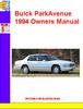 Thumbnail Buick ParkAvenue 1994 Owners Manual