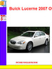 Thumbnail Buick Lucerne 2007 Owners Manual