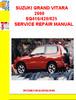 Thumbnail SUZUKI GRAND VITARA 2000 SQ416/420/625 SERVICE REPAIR MANUAL