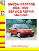 Thumbnail MAZDA PROTEGE 1994- 1996 SERVICE REPAIR MANUAL