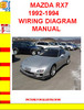 Thumbnail MAZDA RX7 1992-1994 WIRING DIAGRAM MANUAL