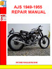 Thumbnail AJS 1949-1955 REPAIR MANUAL