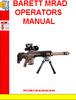 Thumbnail BARETT MRAD OPERATORS MANUAL