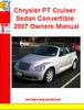 Thumbnail Chrysler PT Cruiser Sedan Convertible 2007 Owners Manual
