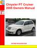 Thumbnail Chrysler PT Cruiser 2005 Owners Manual