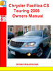 Thumbnail Chrysler Pacifica CS Touring 2005 Owners Manual