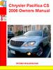 Thumbnail Chrysler Pacifica CS 2006 Owners Manual
