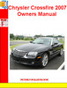 Thumbnail Chrysler Crossfire 2007 Owners Manual