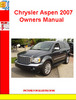 Thumbnail Chrysler Aspen 2007 Owners Manual