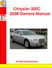 Thumbnail Chrysler 300C 2008 Owners Manual