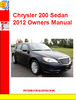 Thumbnail Chrysler 200 Sedan 2012 Owners Manual