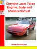 Thumbnail Chrysler Laser Talon Engine, Body and Chassis manual