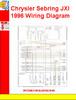 Thumbnail Chrysler Sebring JXI 1996 Wiring Diagram