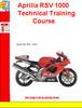 Thumbnail Aprilia RSV 1000 Technical Training Course