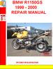 Thumbnail BMW R1150GS 1999 - 2000 REPAIR MANUAL
