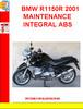 Thumbnail BMW R1150R 2001 MAINTENANCE INTEGRAL ABS