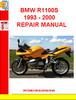 Thumbnail BMW R1100S 1993 - 2000  REPAIR MANUAL