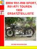 Thumbnail BMW R51-R66 SPORT, R61-R71 TOUREN 1939 ERSATZTEILLISTE