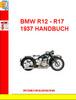 Thumbnail BMW R12 - R17  1937 HANDBUCH