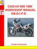 Thumbnail CAGIVA N90 1990 WORKSHOP MANUAL GB-D-I-F-E