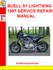 BUELL S1 LIGHTNING 1997 SERVICE REPAIR MANUAL