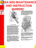 Thumbnail BSA M20 MAINTENANCE AND INSTRUCTION MANUAL
