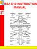 Thumbnail BSA D10 INSTRUCTION MANUAL