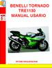 Thumbnail BENELLI TORNADO TRE1130 MANUAL USARIO