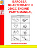 Thumbnail BAROSSA QUARTERBACK II 250CC ENGINE PARTS MANUAL