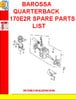 Thumbnail BAROSSA QUARTERBACK 170E2R SPARE PARTS LIST