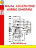Thumbnail BAJAJ  LEGEND 2002 WIRING DIAGRAM