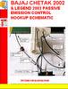 Thumbnail BAJAJ CHETAK 2002 & LEGEND 2003 PASSIVE EMISSION CONTROL HOO
