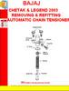 Thumbnail BAJAJ CHETAK & LEGEND 2003 REMOVING & REFITTING AUTOMATIC CH
