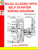 Thumbnail BAJAJ CLASSIC WITH SELF STARTER WIRING DIAGRAM