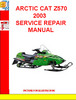 Thumbnail ARCTIC CAT Z570 2003 SERVICE REPAIR MANUAL