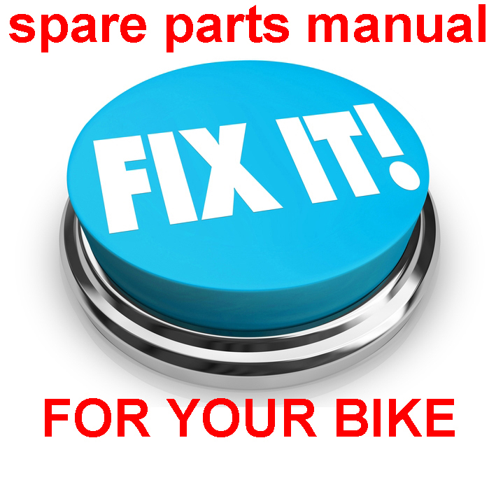 Thumbnail DUCATI M600 METALLIC 2000 PARTS MANUAL