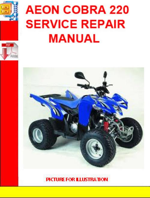 aeon cobra 220 service repair manual download manuals techn rh tradebit com aeon cobra 50cc service manual Puch Cobra