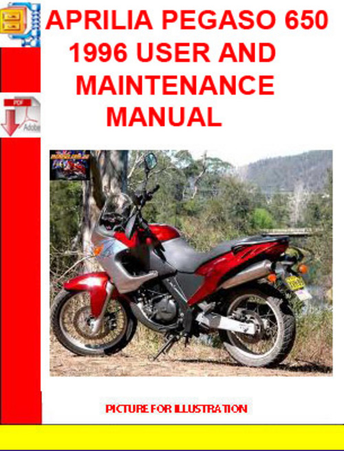 aprilia pegaso 650 1996 user and maintenance manual download manu rh tradebit com 2000 Aprilia Pegaso aprilia pegaso 650 wiring diagram