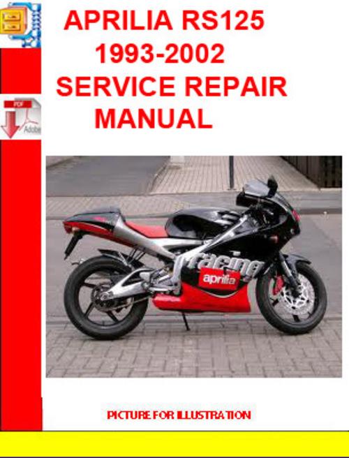 aprilia rs125 1993-2002 service repair manual