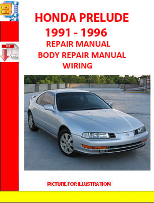 service manual 2000 honda prelude engine repair manual. Black Bedroom Furniture Sets. Home Design Ideas