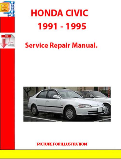 Service manual free download to repair a 1989 honda civic for Honda civic service