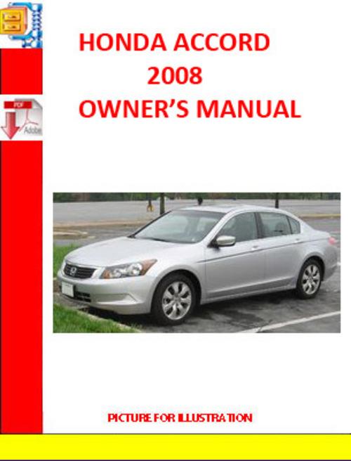 Honda accord 2008 operation manual download manuals for Honda credit card