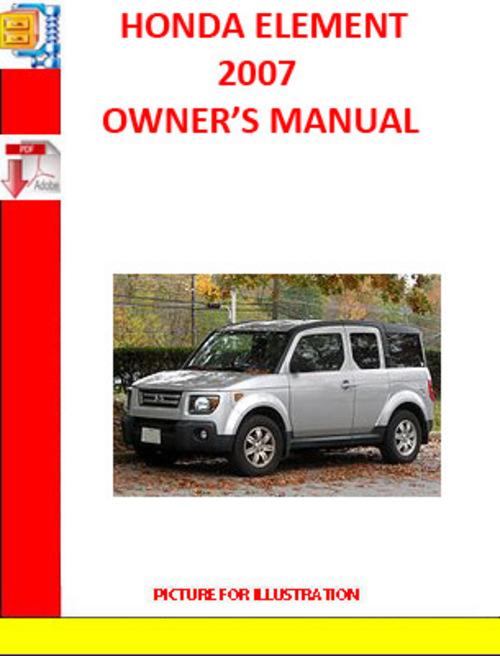 service manual 2007 honda element service manual download. Black Bedroom Furniture Sets. Home Design Ideas