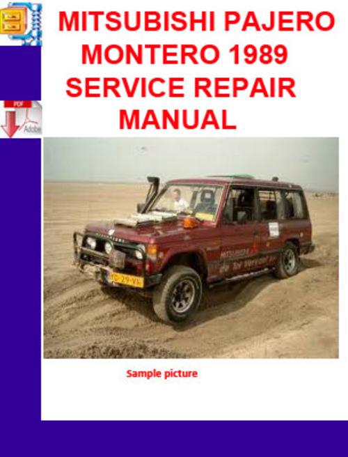 mitsubishi magna workshop manual free download