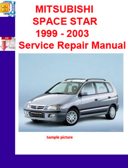 mitsubishi space star 1999 2003 service repair manual pligg. Black Bedroom Furniture Sets. Home Design Ideas
