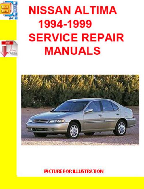 1999 nissan altima repair manual free download