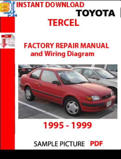 95 toyota tercel engine diagram  95  free engine image for