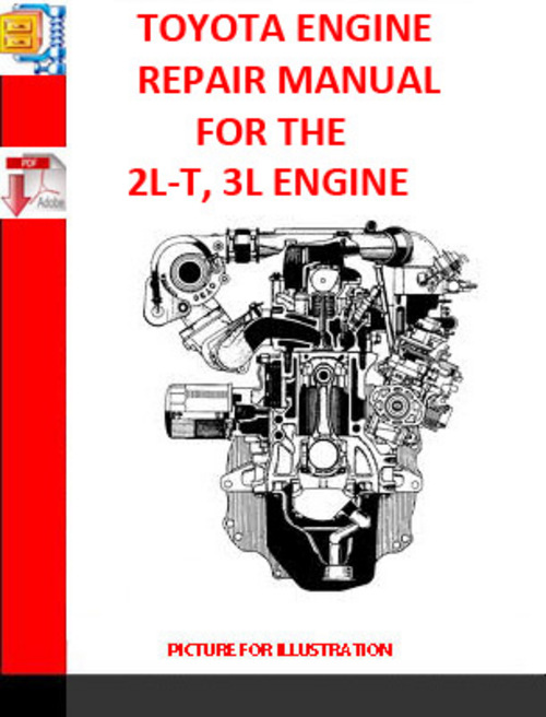 toyota 2l t 3l engine repair manual supplement 1990 download man rh tradebit com toyota 5l engine workshop manual toyota 3l engine repair manual pdf