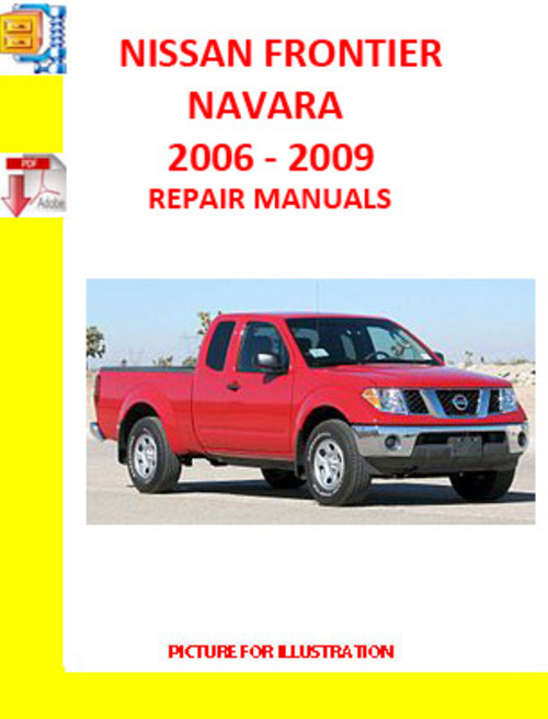 2006 Nissan Frontier Body Repair Manual
