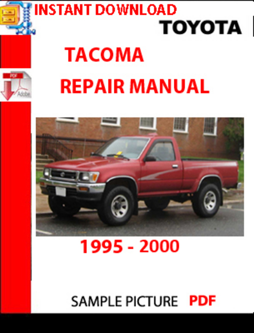1999 toyota tacoma owners manual